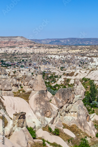 Photo View of Gereme national park in Cappadocia, Turkey