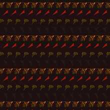 Vector Pattern Repeat Of Strip...