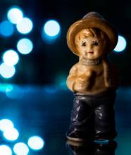 Blue Boy Figurine