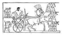 Ramesses II Returning From Syr...