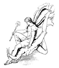 Sculpture Of Comus With The At...