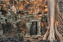 Banteay Kdei Temple In Angkor Wat Complex, Siem Reap, Cambodia