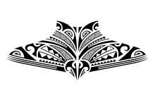 Maori Tattoo Sketch. Tribal Et...