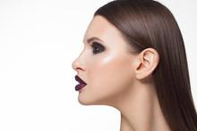 Close Up Glamorous Beauty Imag...