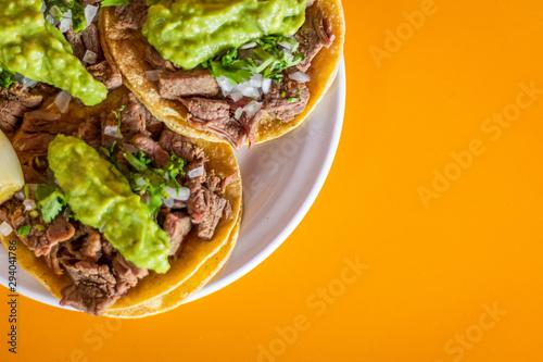 Fototapeta Tacos de asada