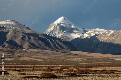 Photo Mountainous landscape