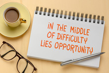 In The Middle Of Difficulty Li...