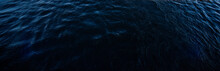 Dark Gloomy Surface Of The Water