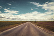 free road retro roadtrip freedom goal concept