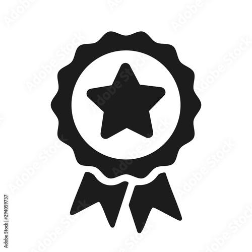 Cuadros en Lienzo  Award medal icon, quality sign – stock vector
