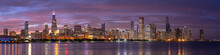 Chicago Downtown Buildings Skyline Panorama