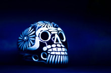 Day Of The Dead, Mexico, Skull...