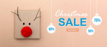 Christmas Sale Message With A ...