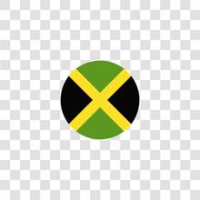 Jamaica Icon Sign And Symbol. ...