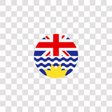 British Columbia Icon Sign And...