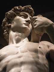 Fototapeta Architektura details of David by Michelangelo