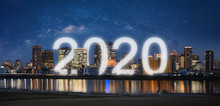 New Year 2020 In The City. Pan...