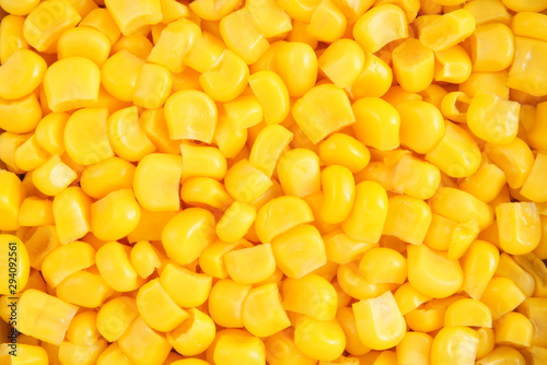 Fotografie, Obraz Canned corn background