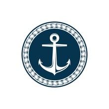 Anchor Logo Template Illustration Design. Vector EPS 10.