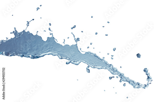 Fototapety, obrazy: Water splash isolated this has clipping path.