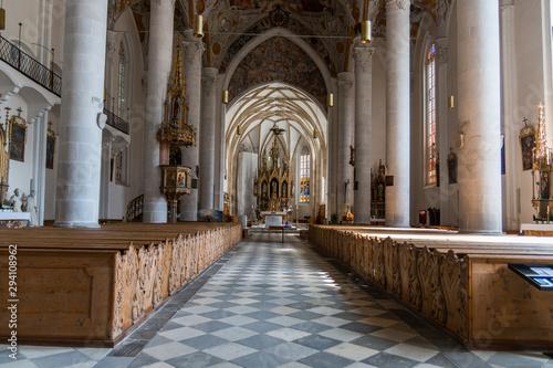 Chiesa parrocchiale Nostra Signora della Palude, Vipiteno, Bolzano, Trentino A Canvas Print