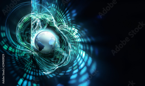 Canvastavla  abstract business background