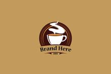 Unique Elegant Amazing Coffee Logo Vector Editable