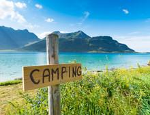 Camping Sign