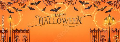 Fotografie, Obraz  holidays Halloween concept