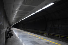 Metro Station At Night