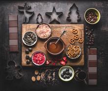 Homemade Christmas Chocolate B...