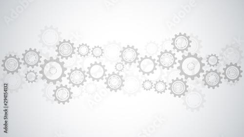 Fotografía  Cogs and gear wheel mechanisms