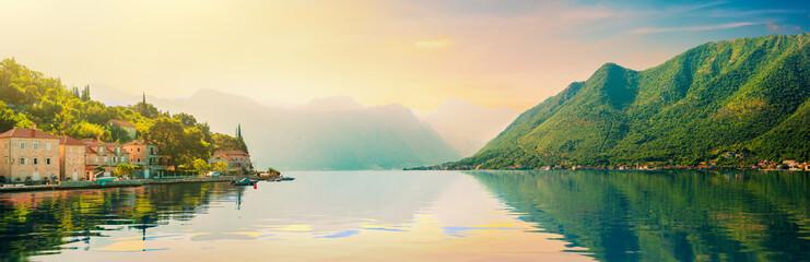 Bay of Kotor and Perast town