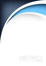 Abstract Blue Background With Copy Space For Your Text
