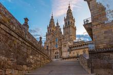 Santiago De Compostela Cathedral, Galicia, Spain