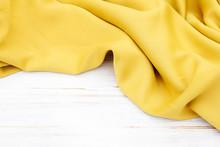 Soft Yellow Fabric, Fashion Ba...