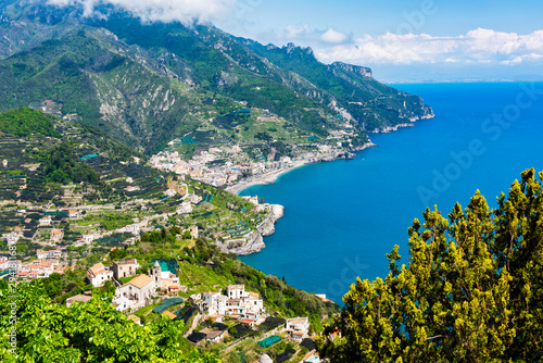 View from the old Italian town of Ravello, situated on the beautiful Amalfi Coas Canvas-taulu
