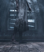 Crying House,Ghost Woman In Ha...