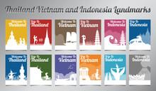 Thailand Vietnam And Indonesia...