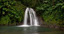 Cascade Aux écrevisses Basse Terre Guadeloupe France