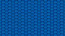Abstract Blue Tiles Background.