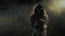 Silhouette Of A Dead Bride In ...