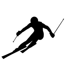 Skieur Alpin