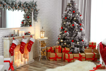 Beautiful Decorated Christmas ...
