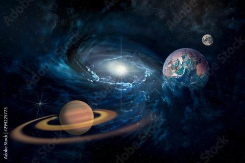 planets-in-the-solar-system-in-the-starry-universe-with-copy-space-elements-of-this-image-furnished-by-nasa