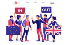 Uk Concept United Kingdom Brex...