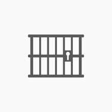 Prison Vector, Jail Icon
