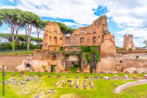 Fototapeta Palatine stadium - Hippodrome of Domitian