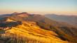 Leinwanddruck Bild - Beautiful mountains in Poland - Bieszczady