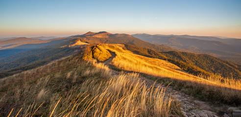 Beautiful mountains in Poland - Bieszczady